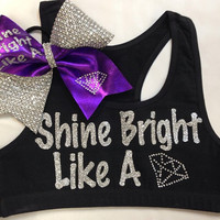 Bow & Sports bra (Customizable)