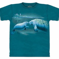 The Mountain Year of Manatee Adult T-shirt