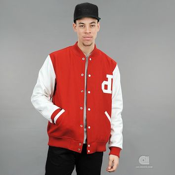 Diamond Supply Co. Un-Polo Wool/Leather Varsity Jacket | Caliroots - The Californian Twist of Lifestyle and Culture