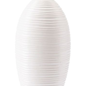 Hat Tall Vase White