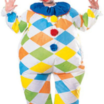 Inflatable Clown Costume - Clown Costumes
