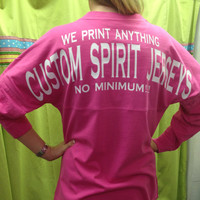Custom Spirit Jersey - no minimum!