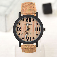 Handmade Mens Wood Watch, wood grain watch, Men's watch, women's watch, wooden watch.