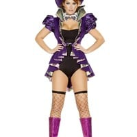 Roma Costume 4729 - 4Pc As Mad As A Hatter