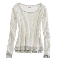 Aerie Cozy Crew Neck Sweatshirt | Aerie for American Eagle