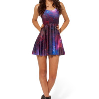 Galaxy Purple Reversible Skater Dress