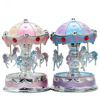 French Carousel Music Box