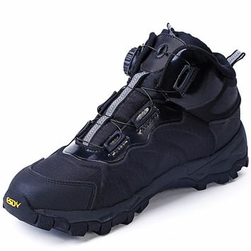 ESDY Military Tactical Combat Rapid reaction system tying Snow boots Male outdoor boots walking shoes