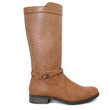 Camel Turner Perforated Boots