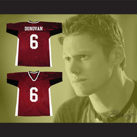Matt Donovan 6 Mystic Falls Timberwolves Football Jersey The Vampire Diaries