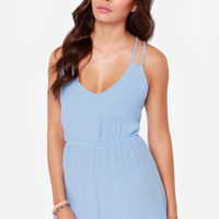 Lucy Love Dream Cloud Periwinkle Dress