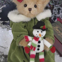 Kate & Snowflake 173200  from Bearington Bears Collection NWT Stuffed Animal
