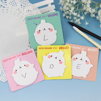 1pcs Korea Stationery Potatoes Rabbit Memo Pad Creative N times Stickers Notepad Sticky Notes Post It Marker Office Stationery
