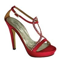 Johnathan Kayne Shoes | Red Prom Shoes | Red Homecoming Shoes | Bridal Shoes | GownGarden.com