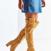 Kylie Suede Knee-High Boot | Urban Outfitters