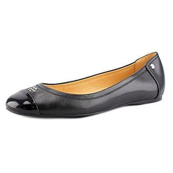 Coach Women's Chelsea Matte Calf Patent Leather Flats, Style A4609