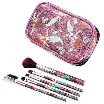 Ariel Brush Set and Make-Up Bag | Disney Store
