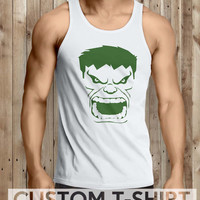The Incredible Hulk Men Tanktop - tri1 Tanktop For Men  / Custom - Tanktop / Men Tanktop