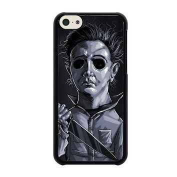 MICHAEL MYERS HALLOWEEN ART iPhone 5C Case Cover