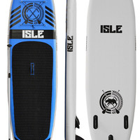 10' Isle Inflatable Standup Paddle Board Blue