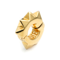 Gold Plated Pyramid Ear Cuff - Eddie Borgo