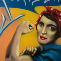 "Rand The Riveter - ""I can do it"" - Ayn Rand"