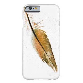 single feather iPhone 6 case cover elegant photo a