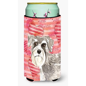 Love a Schnauzer #1 Tall Boy Beverage Insulator Hugger CK1755TBC