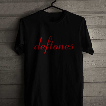 Deftones Logo 242 Shirt For Man And Woman / Tshirt / Custom Shirt