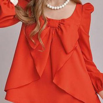 The Sunset Vintage Inspired Blouse