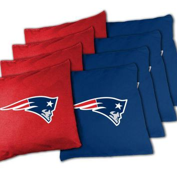 DCCKG8Q NFL New England Patriots XL Bean Bag Set NFL New England Patriots