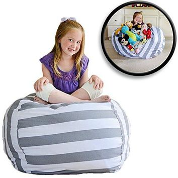 EX LARGE Stuff 'n Sit - Stuffed Animal Storage Bean Bag Cover by Creative QT, 2 sizes 5 patterns
