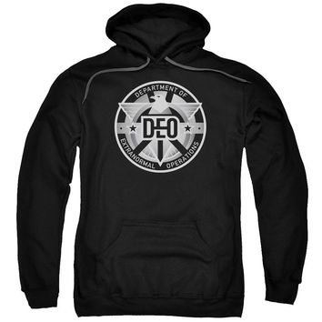 Supergirl - Deo Adult Pull Over Hoodie