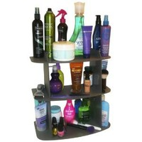 Amazon.com: The Perfect Cosmetic Shelf ..No More Clutter! Triple Your Storage. Also Fits Great on Back of Toilet... Goes with Any Decor. Great Gift Item! Proudly Made in the USA !: Home & Kitchen