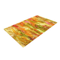 """Rosie Brown """"Walk in the Forest"""" Woven Area Rug"""