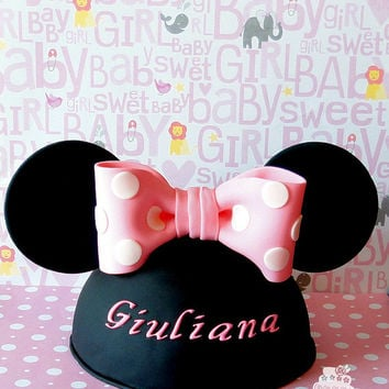 Minnie mouse hat RKT cake topper