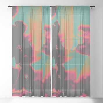 Exposed Sheer Curtain by duckyb
