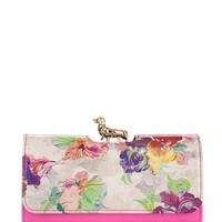 Orchid printed matinee purse - EZMORA by Ted Baker