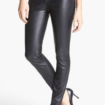 Women's BLANKNYC Faux Leather Skinny Pants ,