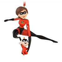 Disney Parks Incredibles 2 Helen and Jack-Jack Christmas Ornament New with Tag