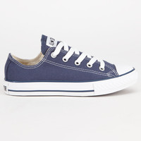 Converse Chuck Taylor All Star Low Boys Shoes Navy  In Sizes