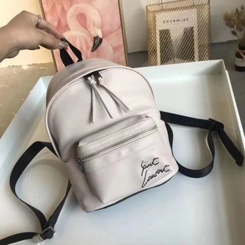 """""""YSL"""" New Shopping Leather Tote Fashion Backpack Bag"""