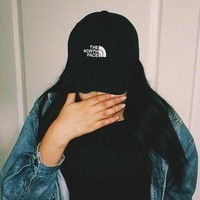 The North Face Casual Embroidery Sports Sun Hat Baseball Cap Hat