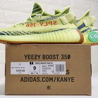 "Adidas Yeezy 350 Boost V2 ""Yebra"" Running Shoes Sneaker CP9652"