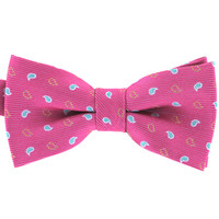 Tok Tok Designs Pre-Tied Bow Tie for Men & Teenagers (B175, Pink)