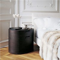Maxalto Amphora Night Stand - Style # 2423, Modern Bedside Tables & Nightstands | End Tables | Contemporary Small Bedside Table | SwitchModern.com