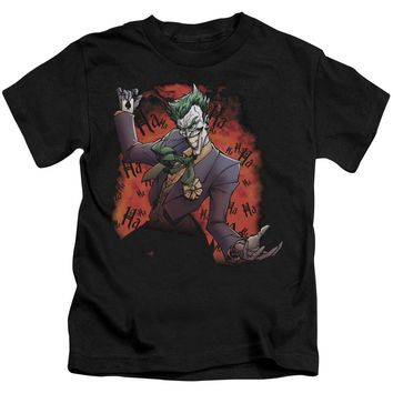 Batman - Joker's Ave Short Sleeve Juvenile 18/1