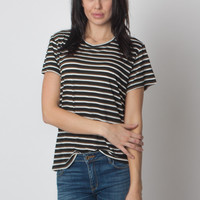 Boy Tee Black Stripe