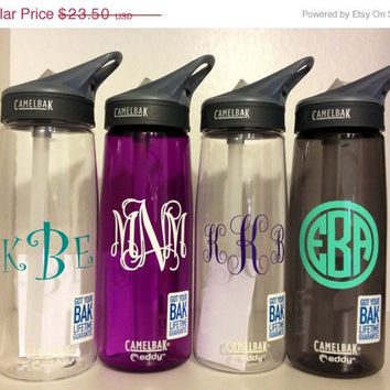 Spring Break Sale Monogrammed Personalized Camelbak Water Bottle. Perfect Easter Basket Stuffer
