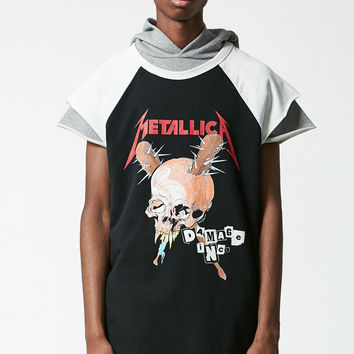 FOG - Fear Of God Metallica Cut-Off Raglan T-Shirt at PacSun.com